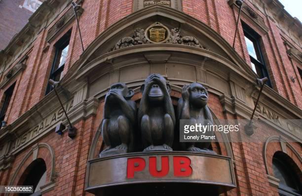 Three Wise Monkeys Pub, central Sydney.