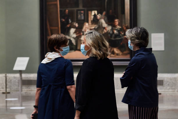 ESP: Museums Get Ready To Open In Madrid