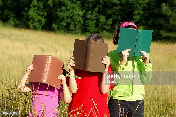 Three  young readers