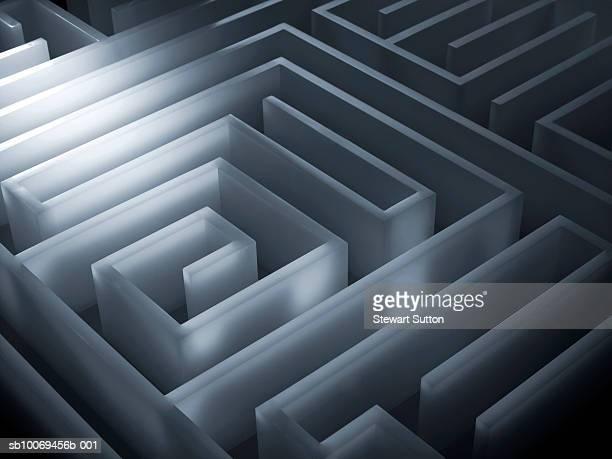 Three-dimensional maze