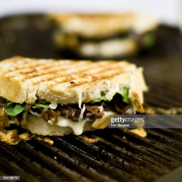 Three-hour grilled cheese sandwich