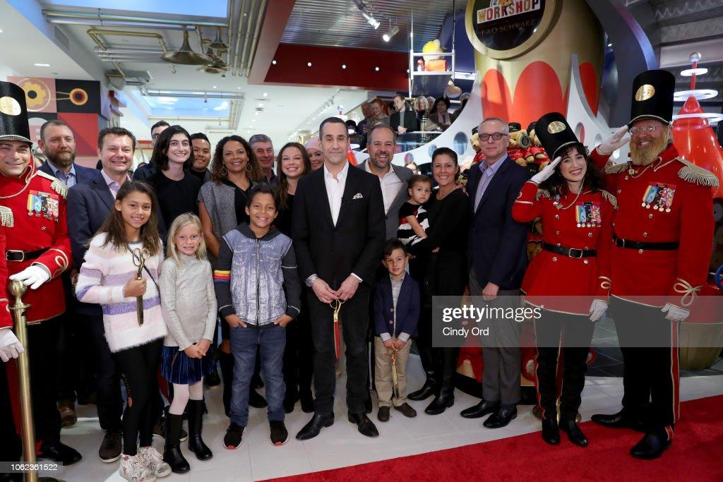 FAO Schwarz Opens Flagship Store In New York City At 30 Rockfeller Plaza : News Photo