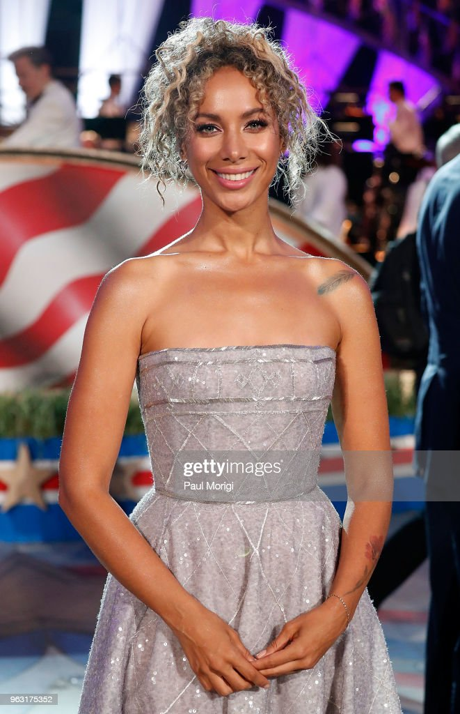 Three-time Grammy Award-nominee singer/songwriter Leona Lewis performs at the 2018 National Memorial Day Concert at U.S. Capitol, West Lawn on May 27, 2018 in Washington, DC.
