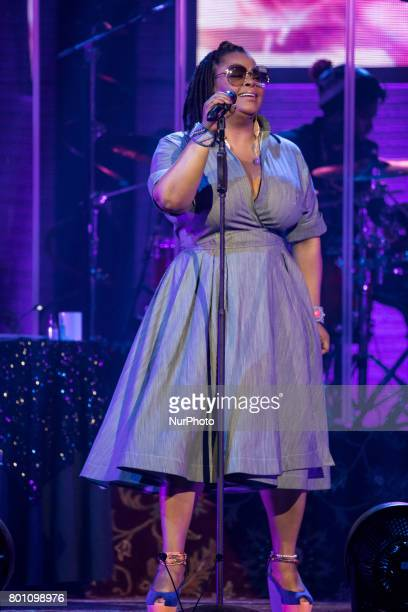 Threetime GRAMMY awardwinning singersongwriter Jill Scott performed at the MGM National Harbor in Oxon Hill MD on Sunday June 25 2017