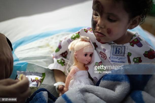 Threeyearold Sarah at Bekaa Hospital in Lebanon Sarah was among the survivors of a snowstorm that killed 16 Syrians crossing into Lebanon earlier...