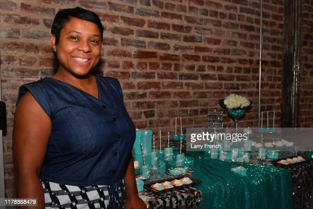 Thrisha Hampton of Elite Creations by Thrisha is seen at Jamie Foster Brown's Sister2Sister DC Launch and MsGrandiosity's birthday celebration...