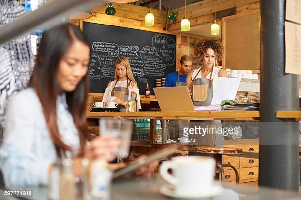 Thriving Coffee shop