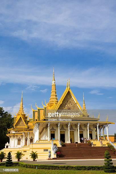 Throne Hall at the Royal Palace.