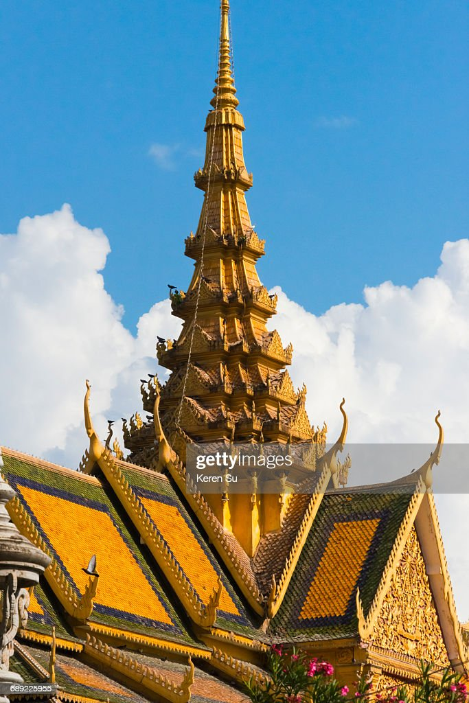 Throne Hall inside Royal Palace Complex : Stock Photo