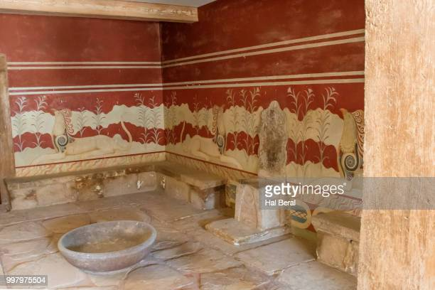 Throne in Palace of Knossos