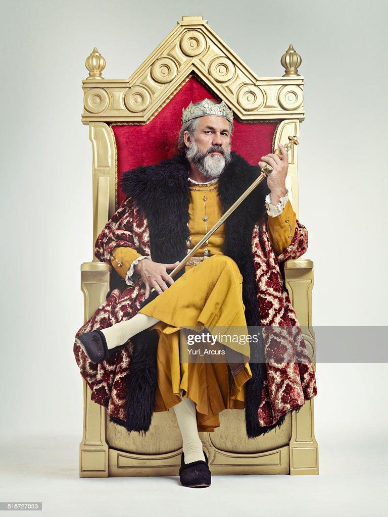 Trono dos Reis : Foto de stock