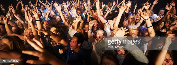 throngs of adoring fans - music festival stock pictures, royalty-free photos & images