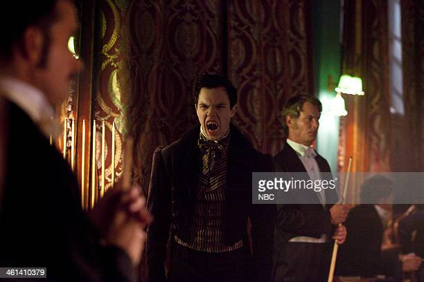 DRACULA 'Through A Lens Darkly' Episode 109 Pictured Alastair Mackenzie as Lord Rothcroft Balint Petes as Vampire