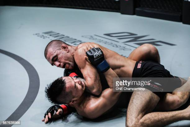 Through his worldclass BJJ Leandro Issa dominated Dae Hwan Kim for the decision win at ONE Championship Immortal Pursuit at the Singapore Indoor...