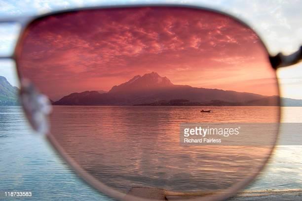 Through rose-tinted glasses