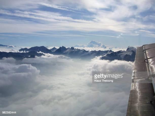 Through the alps on a Ju-52