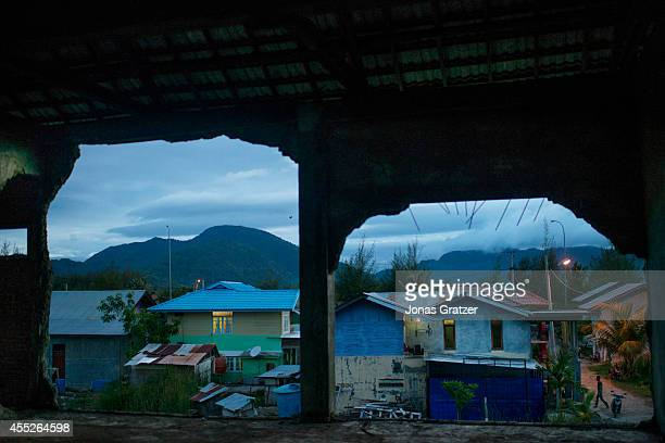 Through the broken walls of what was once a hospital in Banda Aceh that was wrecked by the 2004 tsunami are newly renovated buildings The tsunami of...