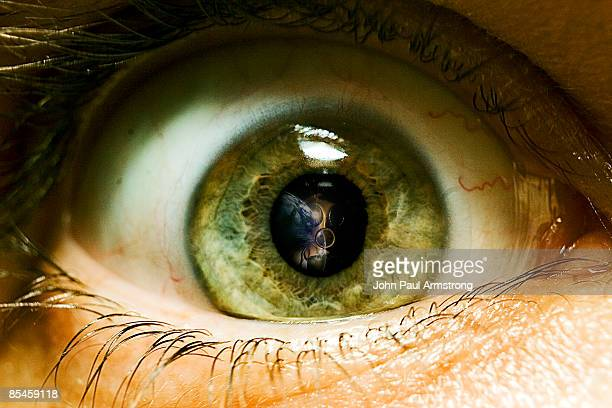 through the mouth of your eye - green eyes stock pictures, royalty-free photos & images