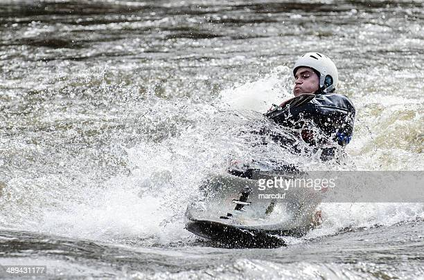 through the wave - swift river stock photos and pictures