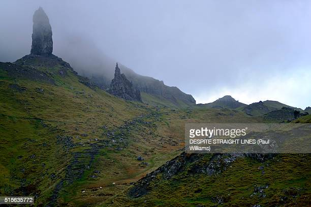 through these mist covered mountains - golden hour stock pictures, royalty-free photos & images