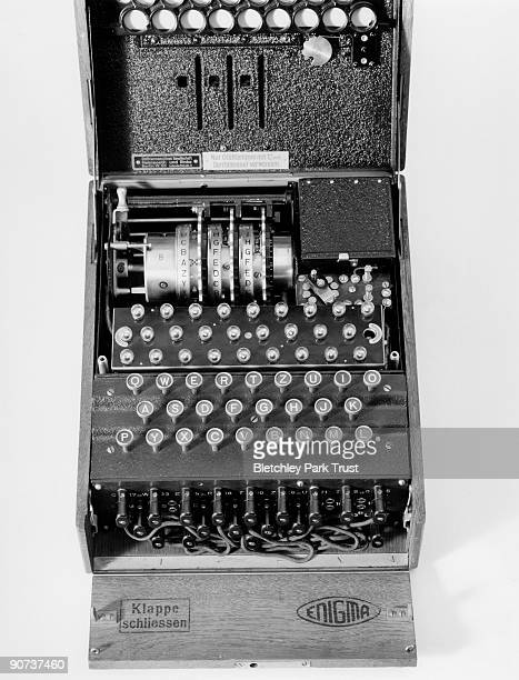 Throughout WWII Germany and its allies encrypted military communiques using Enigma machines and by 1945 over 40000 such machines were in use The...