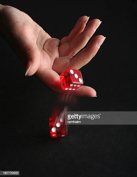 throwing a dice