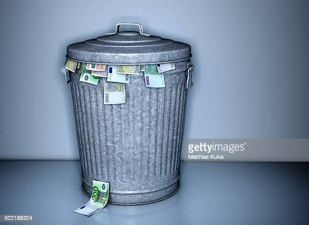 Throwing away money