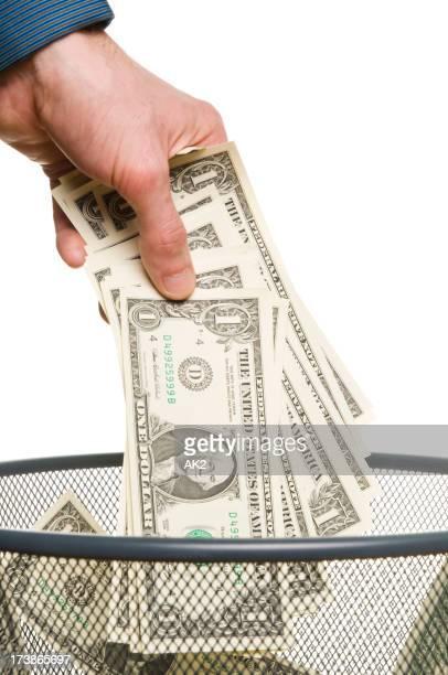 Werfen Geld
