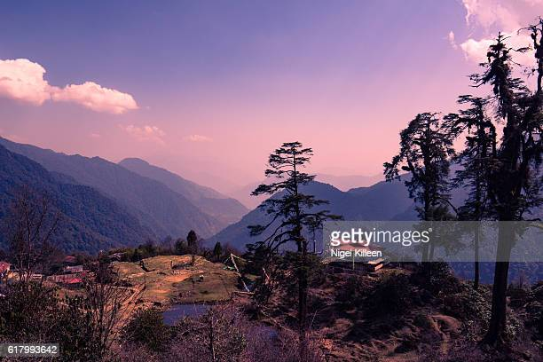 Thsoka Buddhist temple, Kanchendzonga National Park, Sikkim