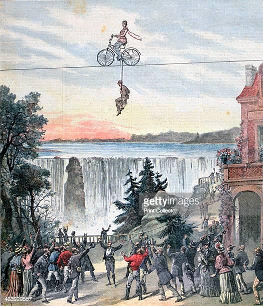 Théâtre de la Gaîté Niagara Falls 1892 A print from a supplement to the Le Petit Journal 13th February 1892
