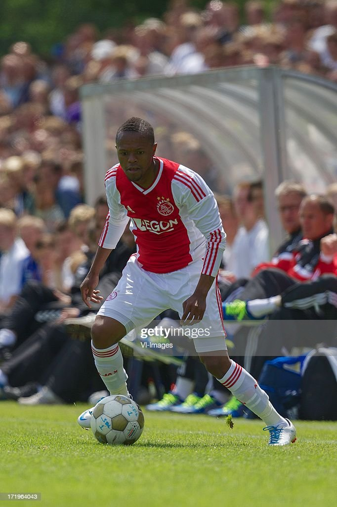 Thulani Serero of Ajax during the pre season friendly match between SDC Putten and Ajax on June 29, 2013 in Putten, The Netherlands.