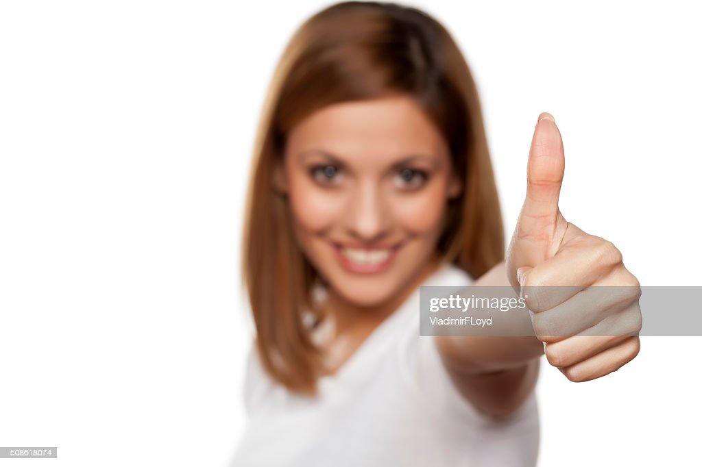 thumb up : Stock Photo