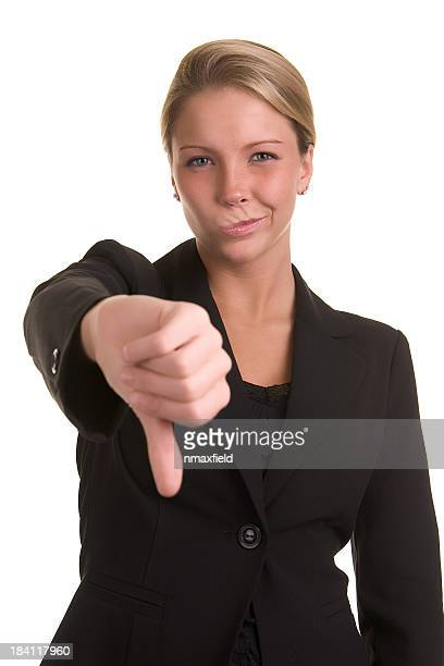 thumbs down - ugly black women stock photos and pictures