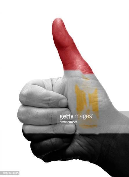 Thumbs up Egypt