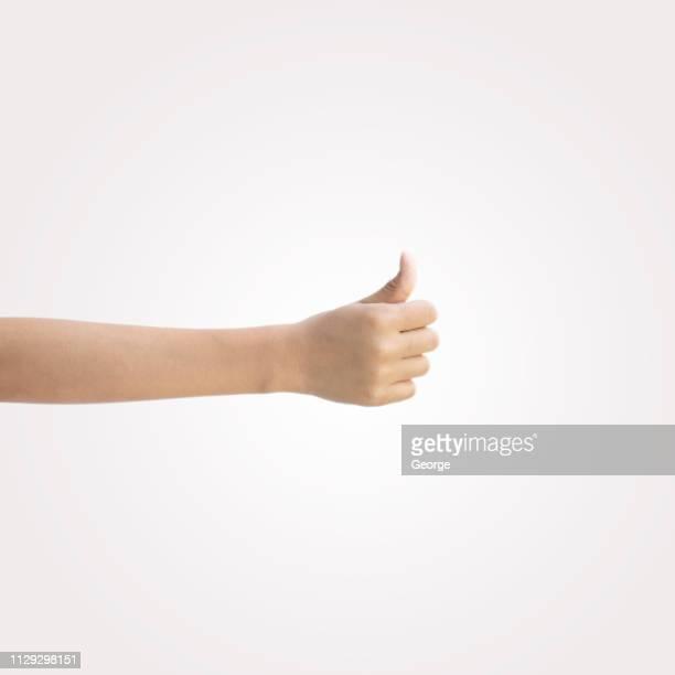 thumbs up - 親指 ストックフォトと画像