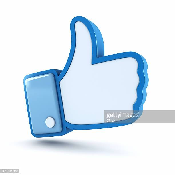 thumbs up - like button stock pictures, royalty-free photos & images