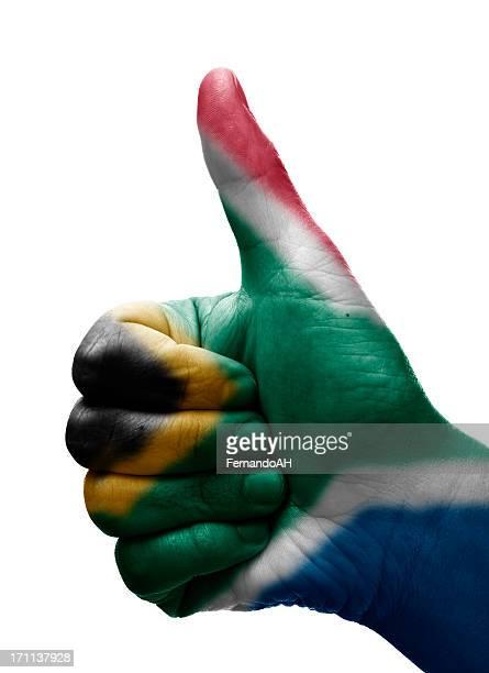 Pouce levé Afrique du Sud
