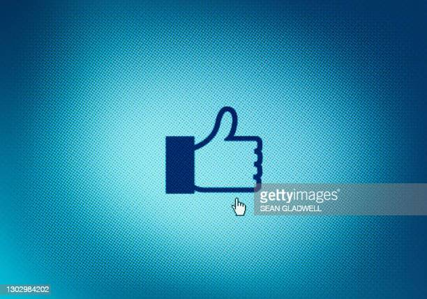 thumbs up symbol - like button stock pictures, royalty-free photos & images