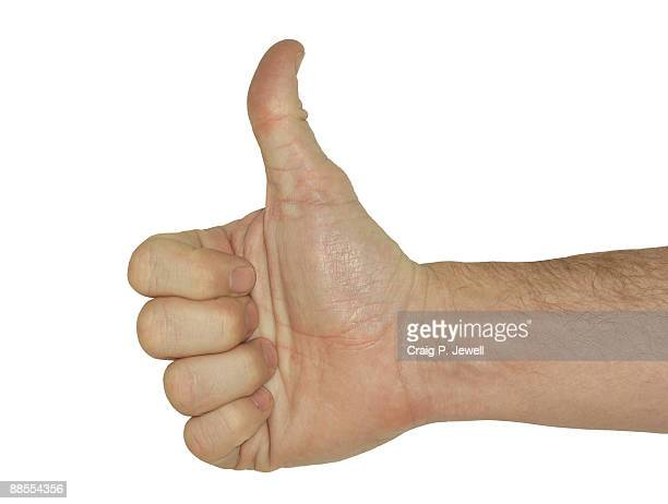 Thumbs Up - With clipping Path