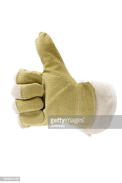 Daumen hoch Arbeiten Glove