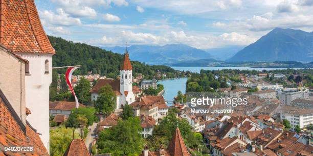 thun, switzerland - bern stock photos and pictures