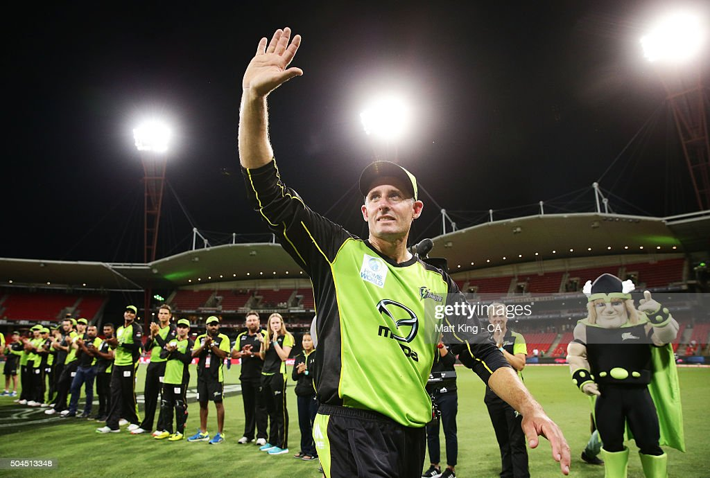 Big Bash League - Sydney Thunder v Melbourne Renegades