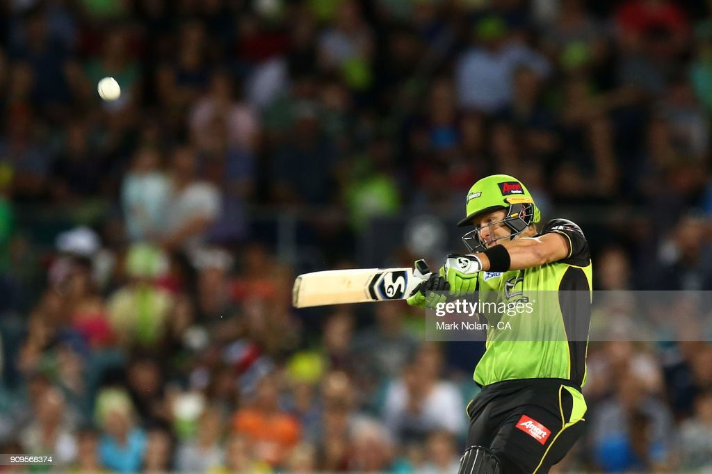 BBL - Thunder v Renegades : News Photo