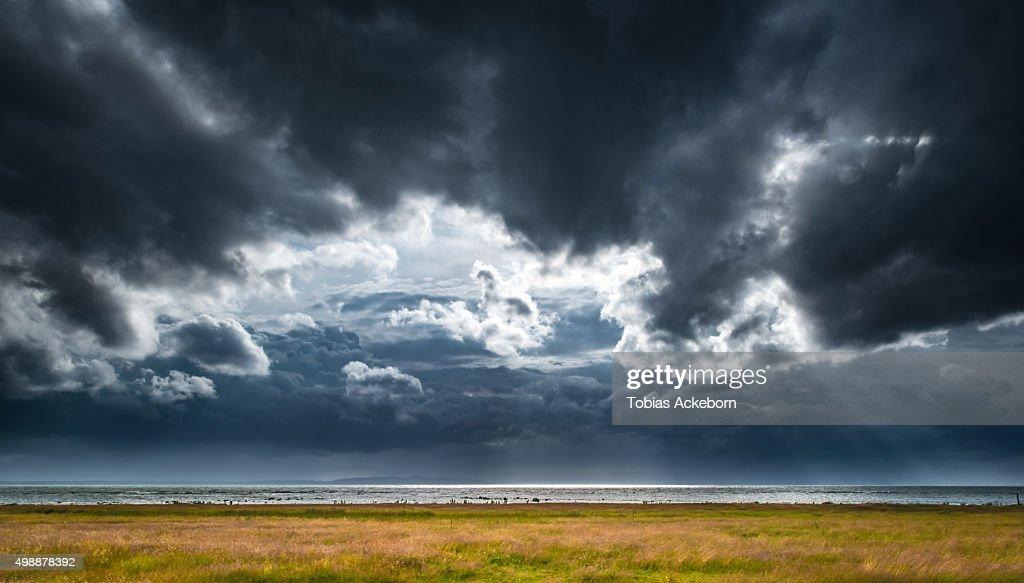 Thunder storm clouds : Stock-Foto