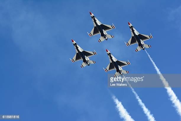 usaf thunderbirds - air force thunderbirds stock pictures, royalty-free photos & images