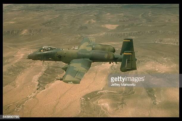 A10 Thunderbolt II Fairchild Republic in flight
