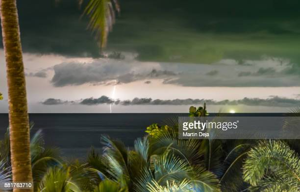 Thunderstorm over the Andaman Sea
