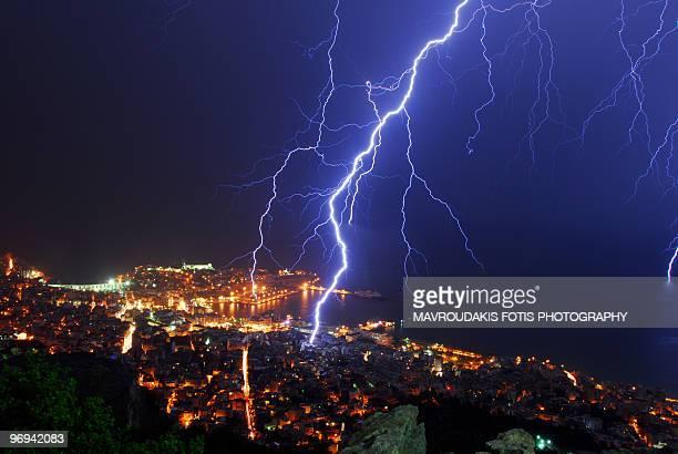 Thunderstormed City