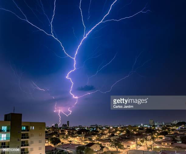 Thunderstorms Over Indaiatuba, Brazil