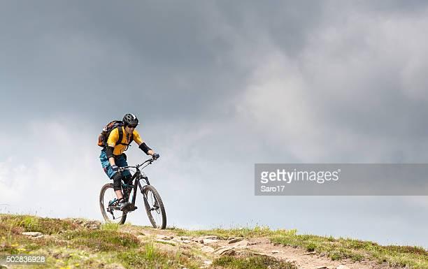 Thundery mountainbiking in the Carinthian Mountains, Austria